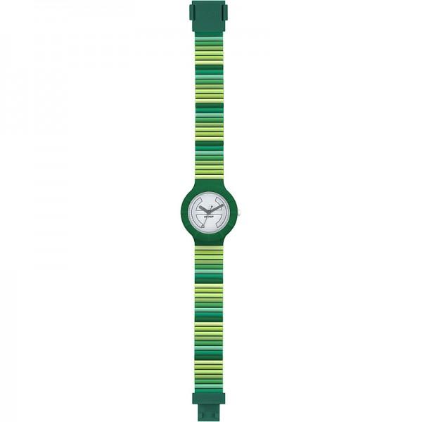 Hip Hop Orologio Millerighe 32m Verde Multicolor