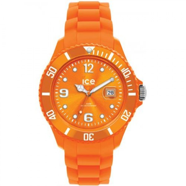 Orologio Ice Silicone Forever Orange