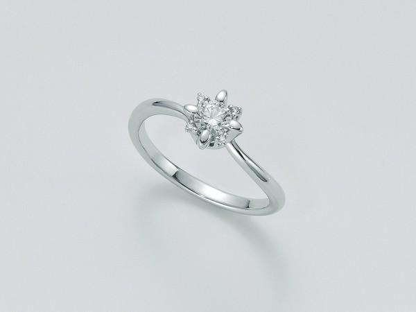 Anello Miluna In Oro Con Diamanti