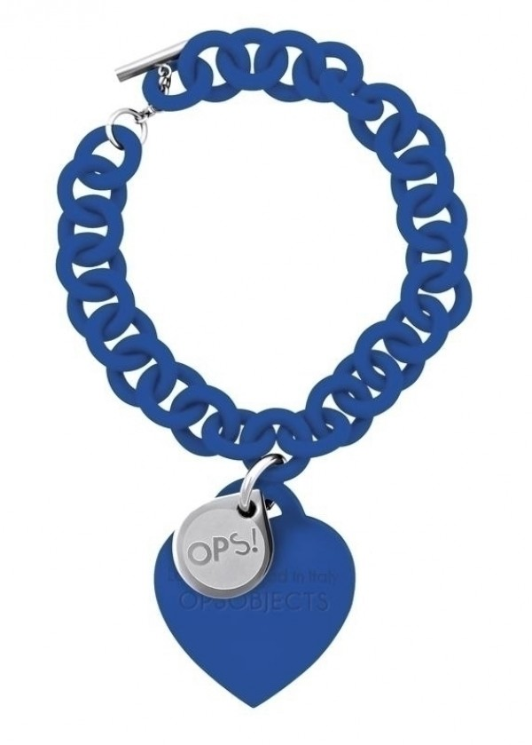 Bracciale Ops Love Blue
