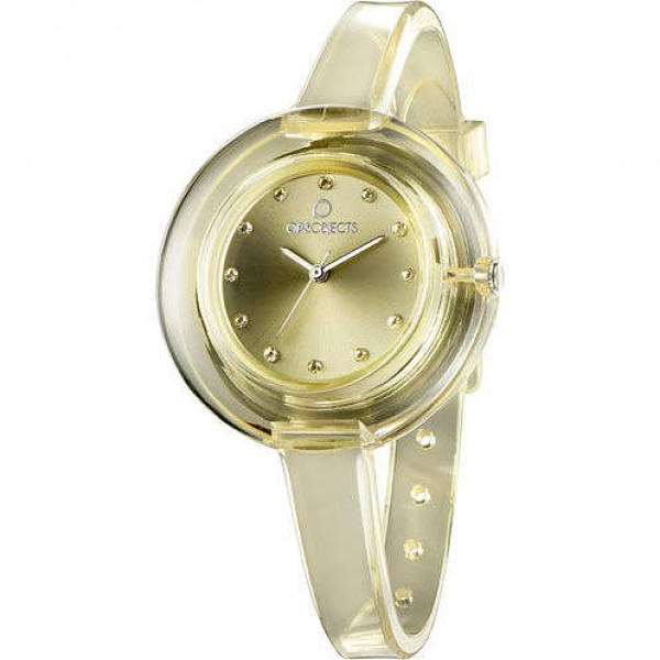 Orologio Opsobjects Nude Lady Watch Giallo