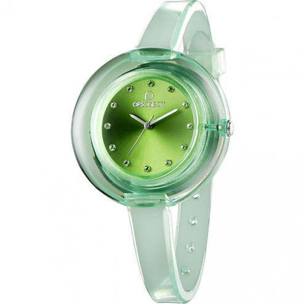 Orologio Opsobjects Nude Lady Watch Verde