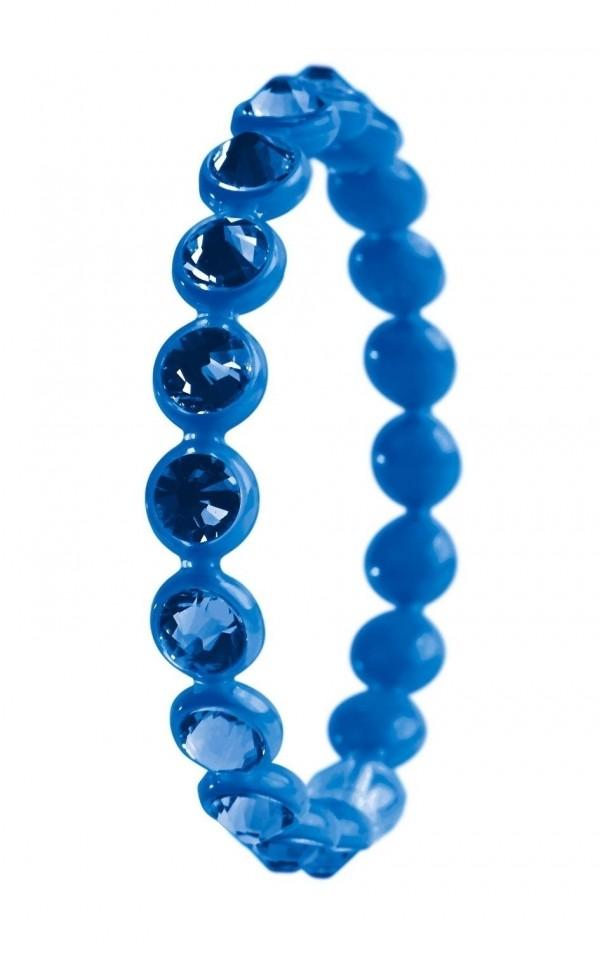 Bracciale Ops Crystal Tennis Capri Blue