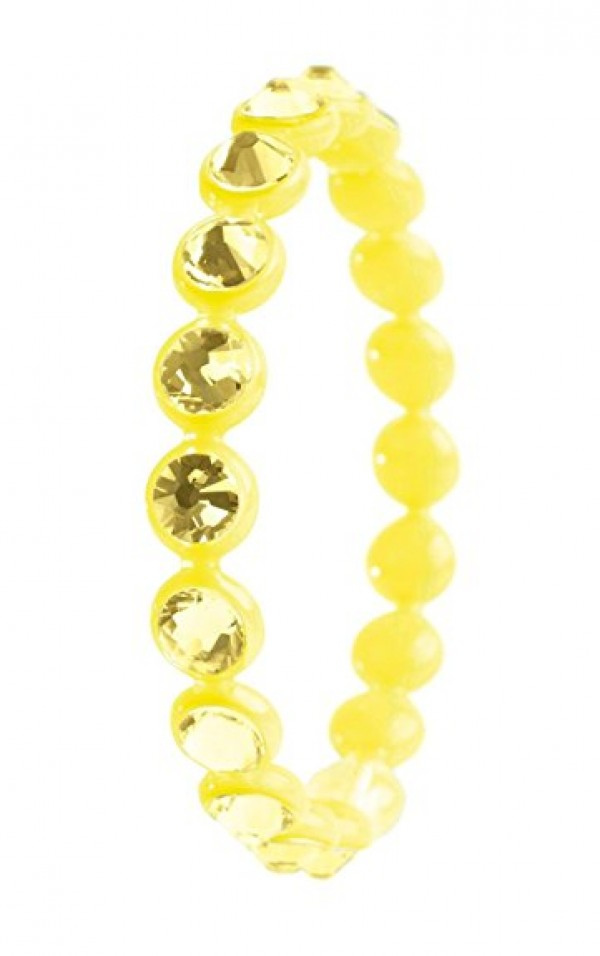 Bracciale Ops Crystal Tennis Giallo Jonquil
