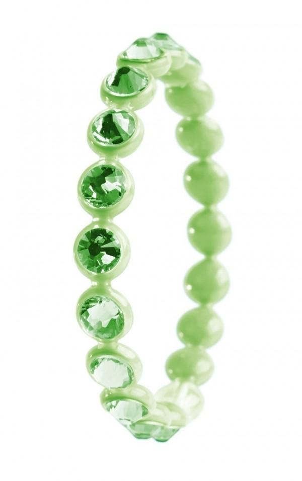 Bracciale Ops Crystal Tennis Verde Peridot