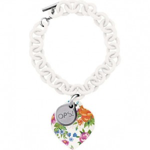 Bracciale Ops! Love Flower Bianco