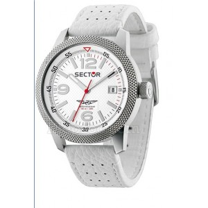 Orologio Sector Overland Solotempo Bianco 48mm