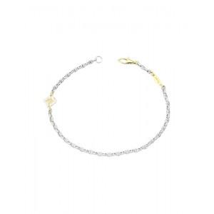 Bracciale Zancan In Oro Bianco E Giallo