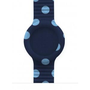 Hip Hop Cinturino 32m Blu/azzurro Pois